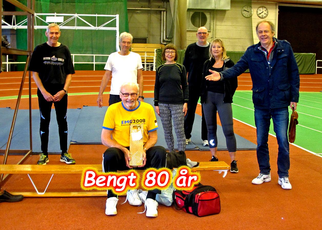 Bengt Adolfsson 80 år