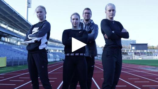 """Möt MAI-trion som dominerat svensk sprint -20: """"Största rivaler på banan"""""""